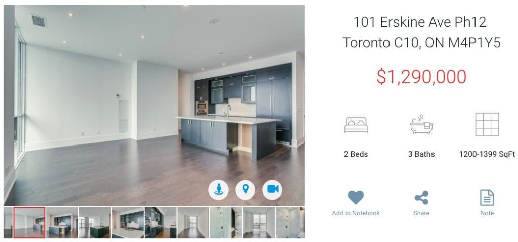 101 Erskine Ave Penthouse For Sale - Yossi Kaplan, MBA