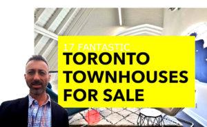 17 Fantastic Toronto Townhouses For Sale - Yossi Kaplan