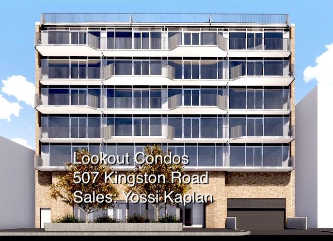 507 Kingston Road - Lookout Condos - Sales Yossi Kaplan - Building Render