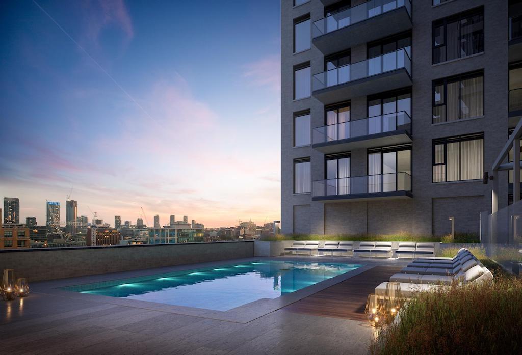 543 Richmond Condos - Pool - Sales Call Yossi Kaplan, MBA