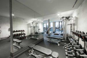608 Richmond W The Harlowe Condos - Gym 2
