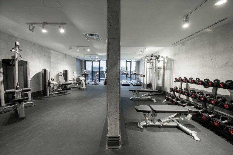 608 Richmond W The Harlowe Condos - Gym