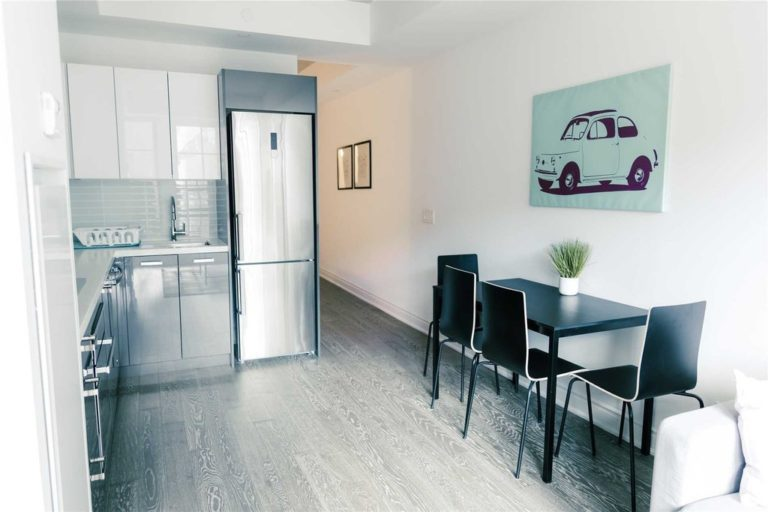 One Bedroom Condo For Sale @ 608 Richmond W - The Harlowe - Living Room