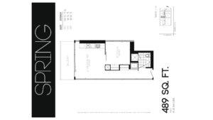 608 Richmond W The Harlowe - Floorplan by Yossi Kaplan - 01