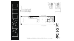 608 Richmond W The Harlowe - Floorplan by Yossi Kaplan - 02