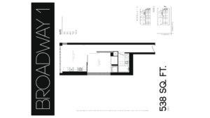 608 Richmond W The Harlowe - Floorplan by Yossi Kaplan - 03