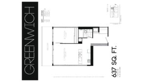 608 Richmond W The Harlowe - Floorplan by Yossi Kaplan - 04