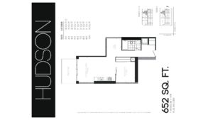 608 Richmond W The Harlowe - Floorplan by Yossi Kaplan - 05