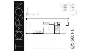 608 Richmond W The Harlowe - Floorplan by Yossi Kaplan - 06