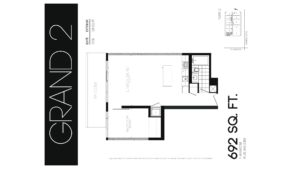 608 Richmond W The Harlowe - Floorplan by Yossi Kaplan - 07