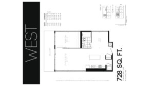 608 Richmond W The Harlowe - Floorplan by Yossi Kaplan - 08