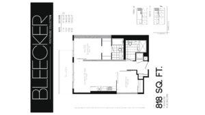 608 Richmond W The Harlowe - Floorplan by Yossi Kaplan - 10