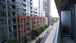 #618 - 36 Lisgar - Balcony North - by Yossi Kaplan, MBA