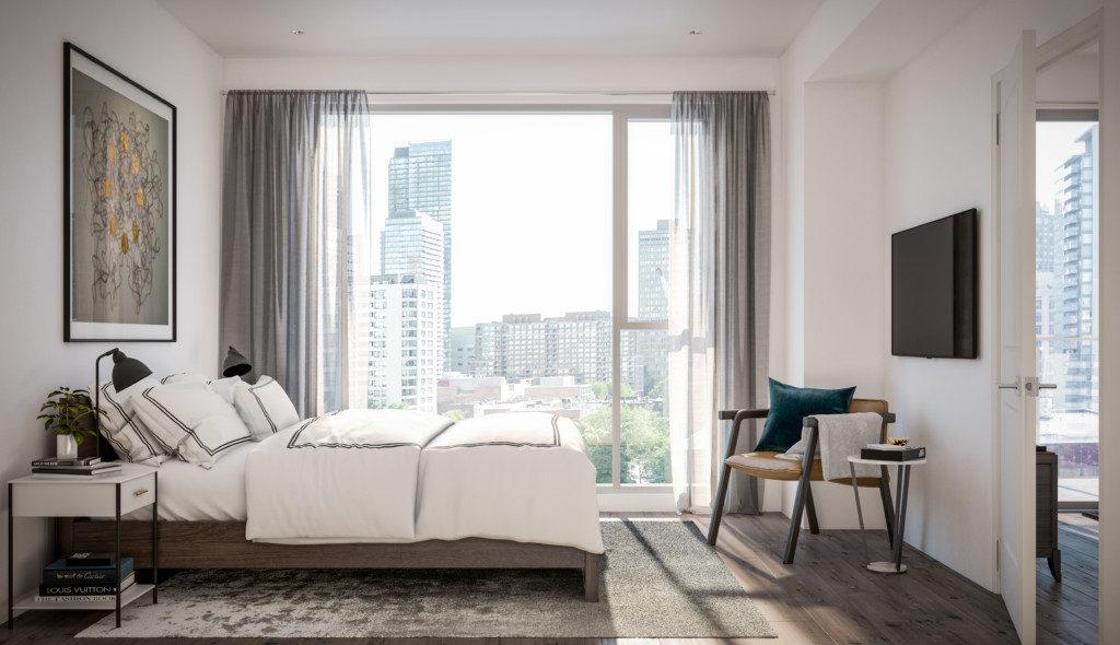543 Richmond Condos - Bedroom - Sales Call Yossi Kaplan, MBA
