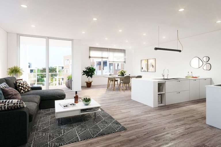 Living Rooms @ Brantford Townhomes For Sale
