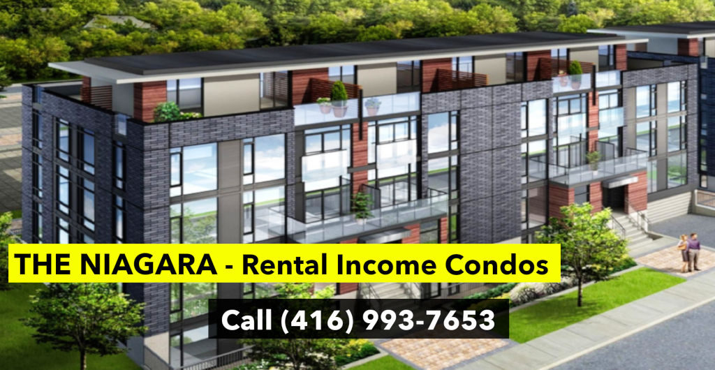 The Niagara - Rental Income Condos - Call Yossi Kaplan 416-993-7653