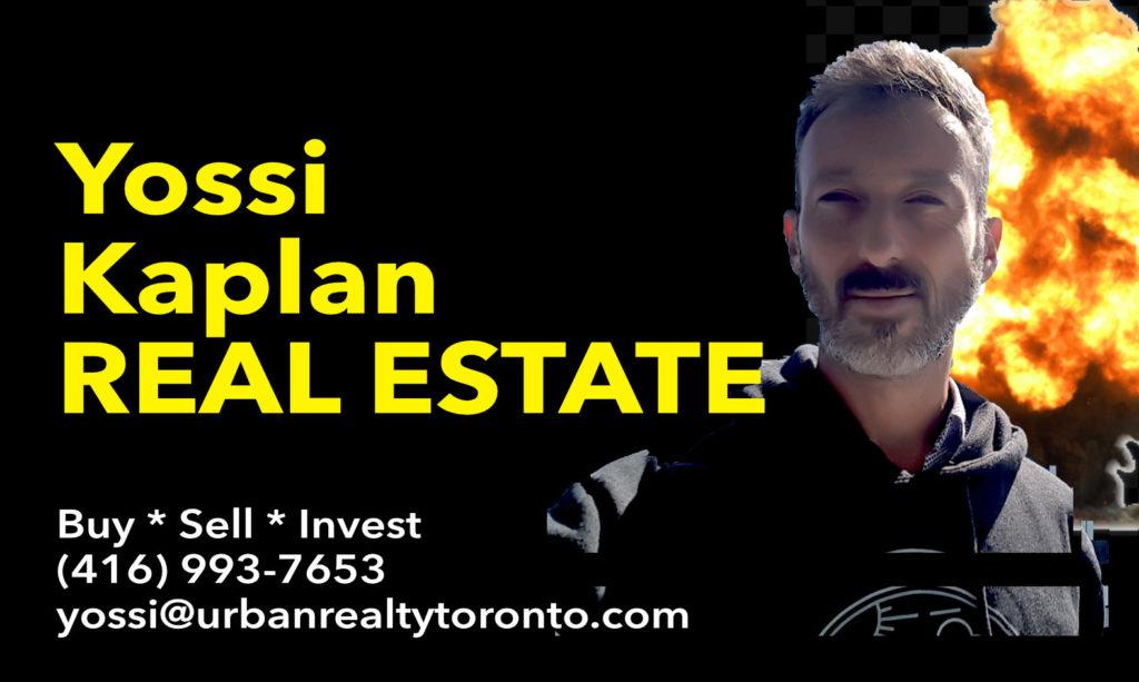 Toronto Condos For Sale by Realtor Yossi Kaplan, MBA